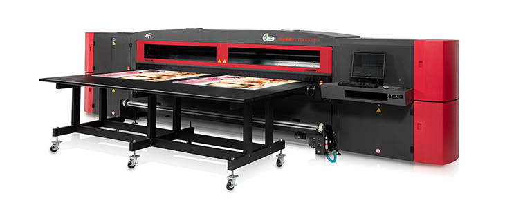 EFI Pro 24f LED flatbed printer
