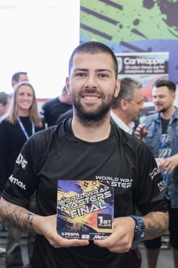 World Wrap Masters Winner Ivan Tenchev