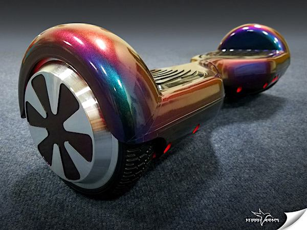Vehicle Wraps Inc. ColorFlow Hoverboard