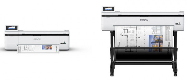 Epson Image of the two T series printers